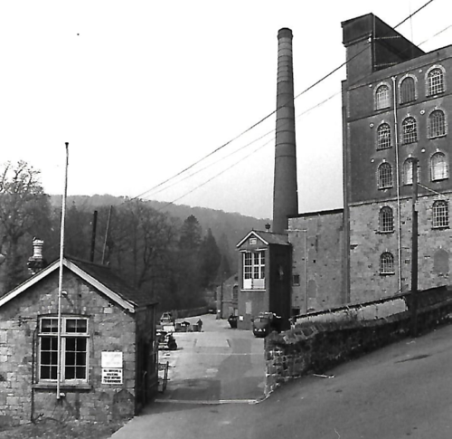 Old Gatehouse and entrance to mill yard