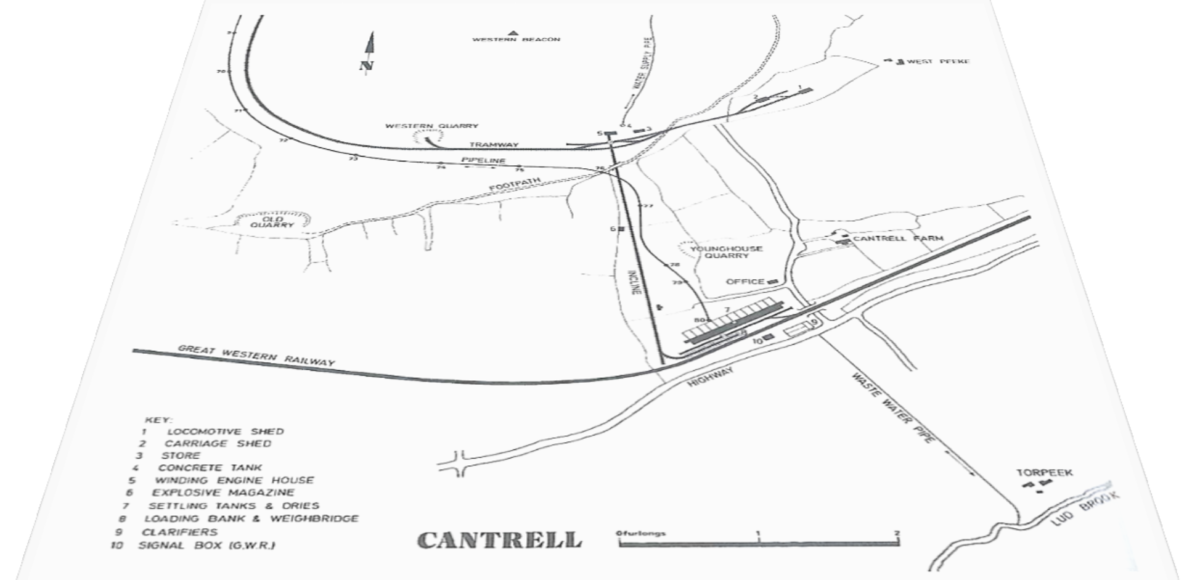 Redlake Map and Cantrell