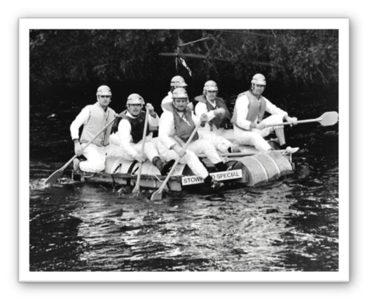 Raft Race in 1981