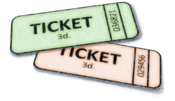 Draw tickets