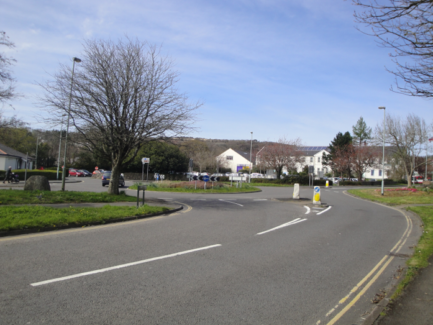 Marjorie Kelly Way Roundabout