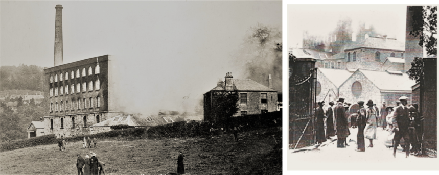 Stowford Mill Fire 1915