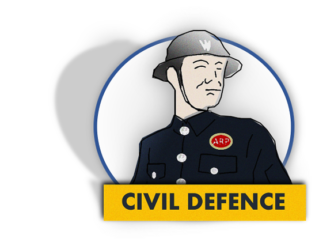 Civil Defence in Ivybdge