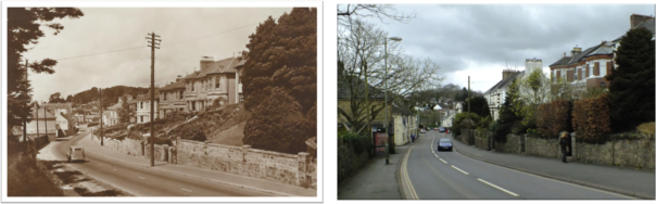 Exeter Road then and now homepage