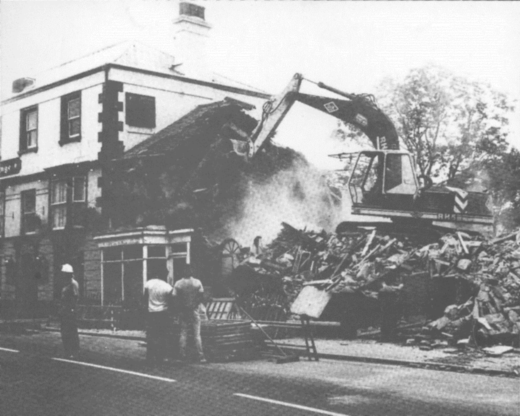 House demolition Fore St