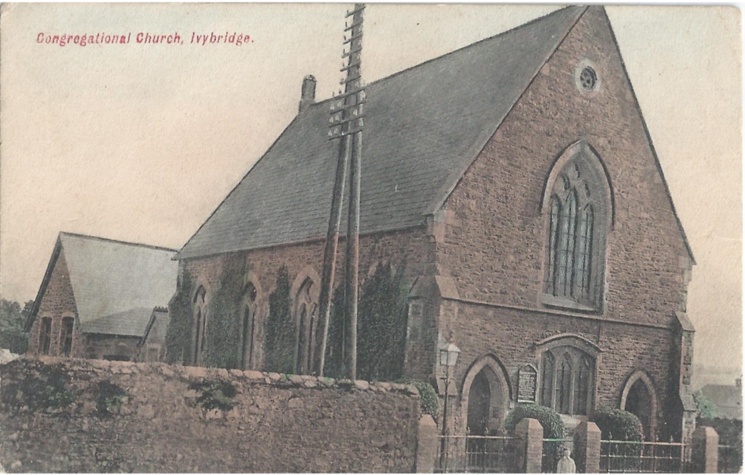 Congregational Church colour postcard
