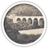 Navvies building viaduct